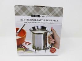 Cobble Creek Professional Stainless Steel Batter Dispenser - £17.67 GBP