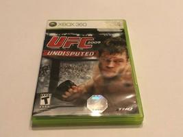 Microsoft XBOX 360 - UFC 2009 Undisputed - $10.00