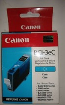 New Box Sealed Bag Genuine OEM Canon BCI-3eC Cyan blue Ink Catrtidge 13ml S400 - $4.99