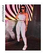 Sexy Two Piece Set Summer Clothes for Women 2020 Sports Tracksuit 2 Piec... - $32.82