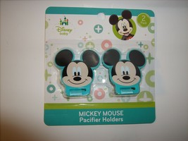 Mickey Mouse Pacifier Holders - $6.92