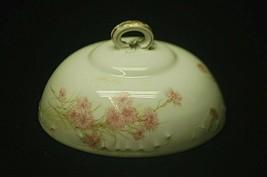 Antique Haviland Limoges France Covered Buter Dish Top (ONLY) Pink Cornf... - $29.69