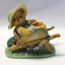 Cherished Teddies Figurine Jennifer Gathering the Blooms of Friendship E... - $13.99