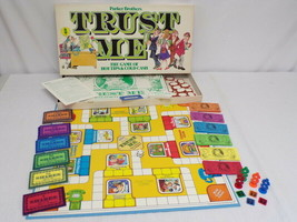 ORIGINAL Vintage 1981 Parker Brothers Trust Me Board Game - $23.01