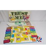 ORIGINAL Vintage 1981 Parker Brothers Trust Me Board Game - $23.01