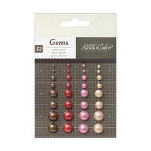 Studio Calico Story Time Girl Adhesive Back Enamel Dots 32/Pkg - 331598 - $2.76