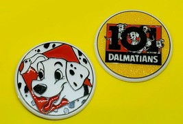 Authentic Vintage Walt Disney's 101 Dalmatians 3 Inch Pinback Button Lot Rare - $11.69