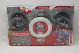 Hasbro Hex Bug Transformers Warriors Battle Stadium Lockdown VS Optimus ... - $23.74