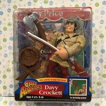 "Great Adventures chunky Davy Crockett Action 5.5"" Figure and Storybook 1... - $63.86"