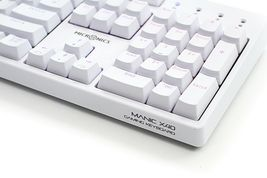 Micronics X40 Mechanical Gaming Keyboard English Korean Jixian Optical (White) image 3