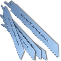 "5 KENT R622HF 6"" BiMetal 10TPI Flexible Reciprocating Saw Blades Wood wi... - $12.18"