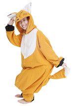 Anime Adult Animal Cosplay Costume Lovely One Piece Pajamas Fox 1628 - $52.99