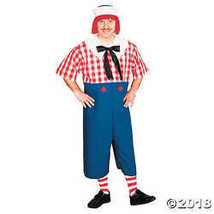 Raggedy Andy Costume - Standard - Chest Size 33-45 - $63.74