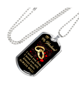 Gift Ideas - To My Husband Luxury Dog Tags From Wife Lover Boyfriend in ... - $29.65+