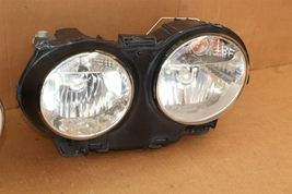 04-07 Jaguar XJ8 XJR VDP Headlight Lamp HALOGEN Set L&R POLISHED image 3