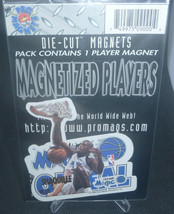 Shaquille Oneal 1996 Chris Martin Ent. NFL Die-Cut Magnets Orlando Magic - $2.96