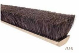 "24"" Horsehair & Tampico Floor Brush Push Broom Replacement Head - $59.95"