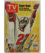 TV Guide Magazine January 8, 1977 Superbowl Cover - $2.00