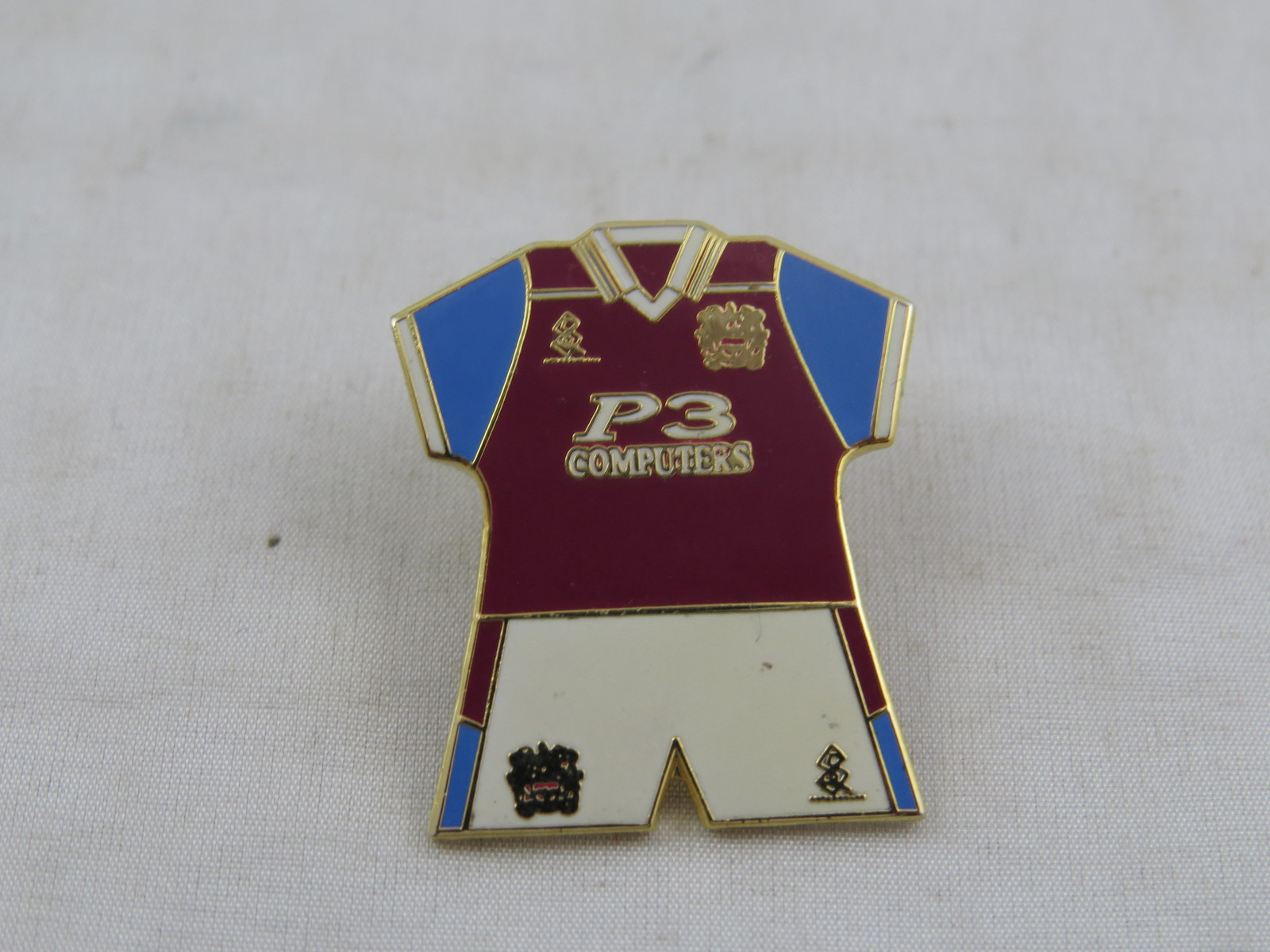 Primary image for Burnely Home Kit Pin - 1999 Uniform - Stamped Pin