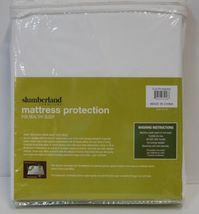 Slumberland Full Mattress Protection White Smooth Breathable image 2