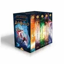 Trials of Apollo Rick Riordan  5 HARDBACK BOOK SET BRAND NEW - £61.01 GBP
