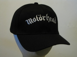 MOTORHEAD - Embroidered Baseball Cap - One Size Fits All. Brand New  - $12.99