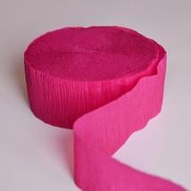 Burgundy Crepe Paper 81FT Party Streamer Wedding Birthday Baby Shower - $91,38 MXN