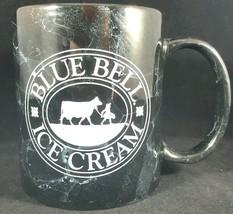 Black Marble Blue Bell Ice Cream Logo Coffee Cup Tea Mug Advertising Mem... - $18.80