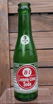 VINTAGE COLLECTIBLE B-1 LEMON LIME SODA 7 OZ POP BOTTLE PITTSBURGH, PA U... - $9.46