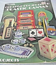 13 Creative Needlepoint Projects for Plastic Canvas Leaflet #213 Leisure Arts - $4.94