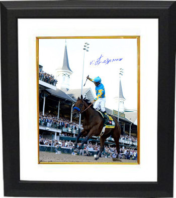 Primary image for American Pharoah signed 16x20 Photo 2015 Kentucky Derby Horse Racing Triple Crow