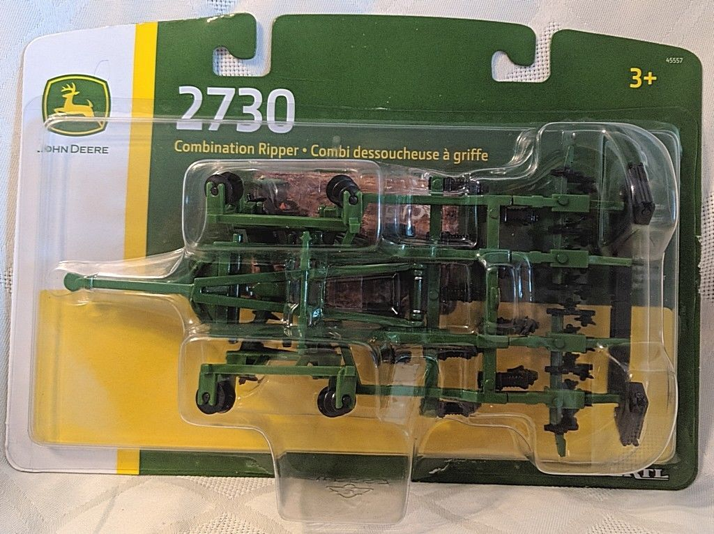 John Deere LP64450 ERTL 2730 Combination Ripper Die Cast Metal Replica