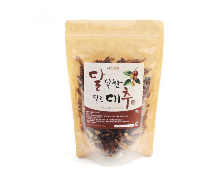 100% Natural Sweet Dried Red Dates Jujube Korean Herb 150g Healthy Foods image 3