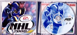 EA Sports, NHL 2000, Playstation Game, Rated E for Everyone - $1.99