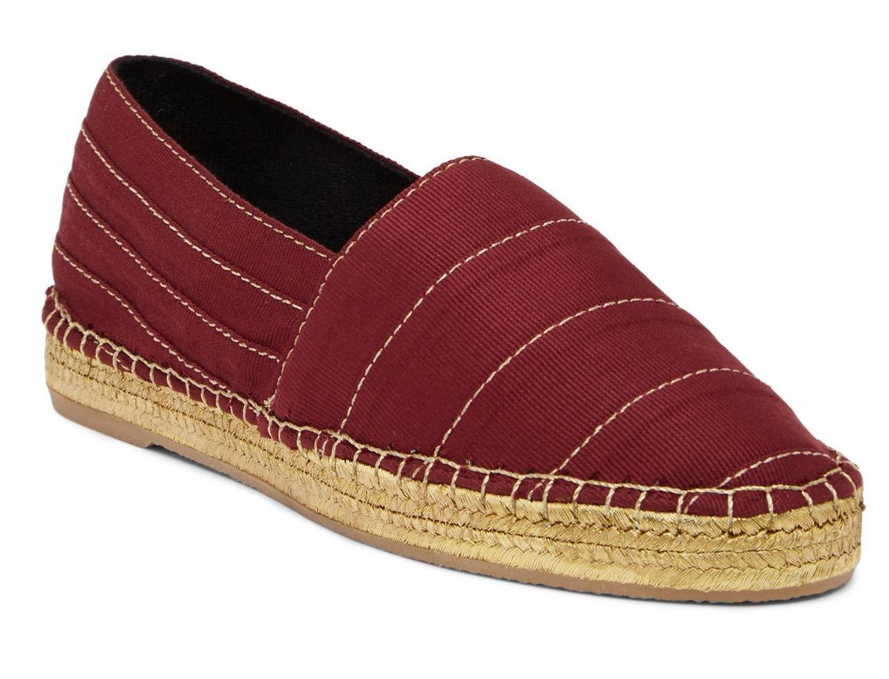 New in Box - $250 Marc Jacobs Sienna Bordeaux Espadrille Flat Size 9 (39) - $54.99