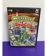 Sims Carnival: SnapCity (PC CD-ROM, 2008) with Manual - $5.93