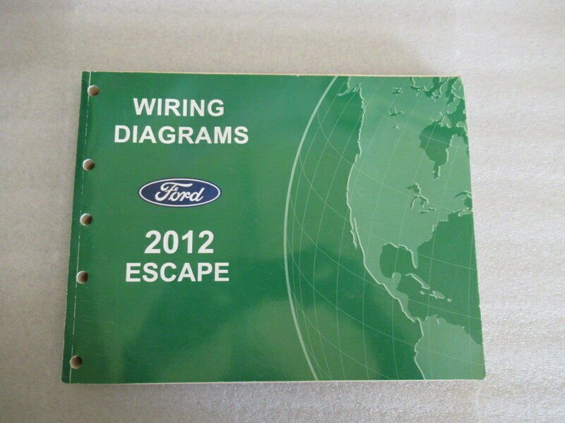 2012 Ford Escape Wiring Diagrams Oem Manual And Similar Items