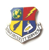 USAF AIR FORCE SECURITY SERVICE PIN - $15.33