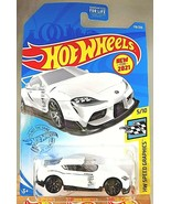 2021 Hot Wheels #178 HW Speed Graphics 5/10 '20 TOYOTA GR SUPRA White w/Black10s - $10.50