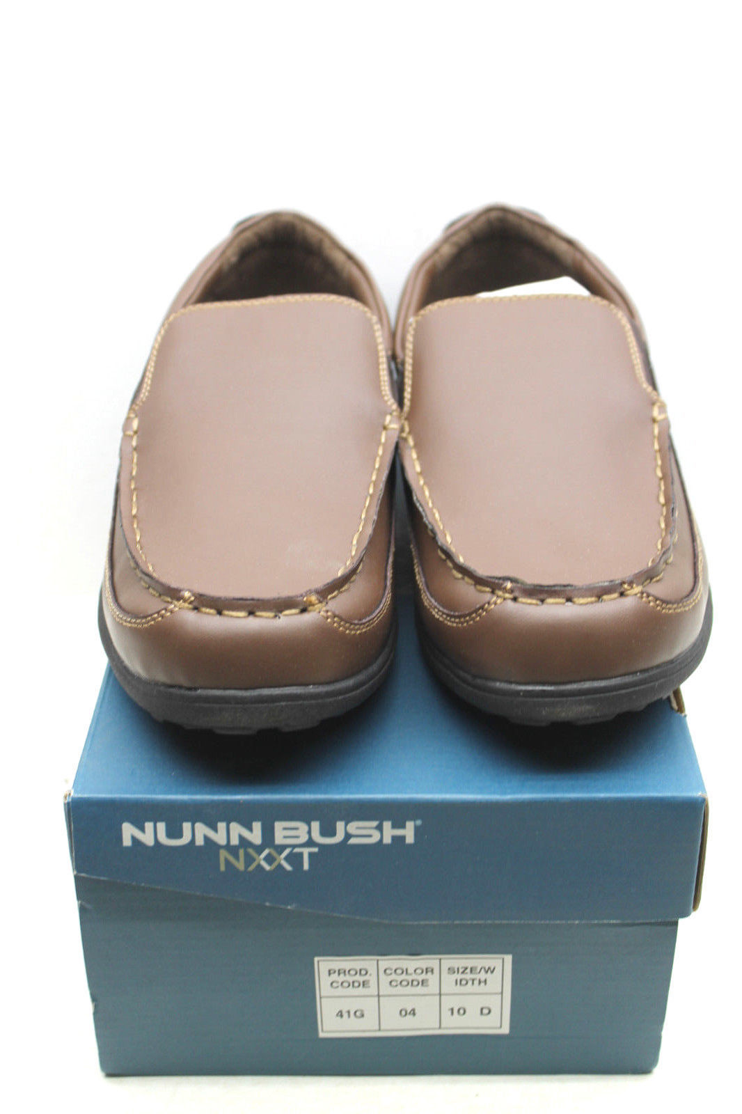 40a50f0cde1 S l1600. S l1600. Previous. Mens Nunn Bush NXXT 89173 Wellis Brown Size 10  D Casual Shoes Leather Loafer