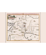 Map of Eden & Paradise in Persian Gulf Region; Map by Mortier, 1700 - $26.72+