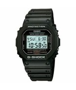 Casio - DW5600E-1V - G-SHOCK Digital Chronograph Mens Sport Watch - Black - $54.40