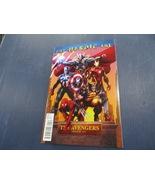 The Avengers # 1   Marvel Comics  VF/NM  Variant  1:15   Heroic Age 2010 - $10.00