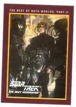 Star Trek The Next Generation card #228 Best of Both Worlds Part II Patrick Stew - $4.00
