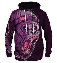 Gorilla Printed Hoodie | Unisex | XS-2XL | Mr.Gugu & Miss Go