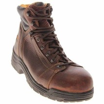 "Timberland PRO Mens TiTAN Lace To Toe 6"" Safety Toe Brown Full Grain Siz... - $93.14"