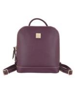 Dooney & Bourke Saffiano Leather Pod Backpack Bag Burgundy A342297 - $214.00