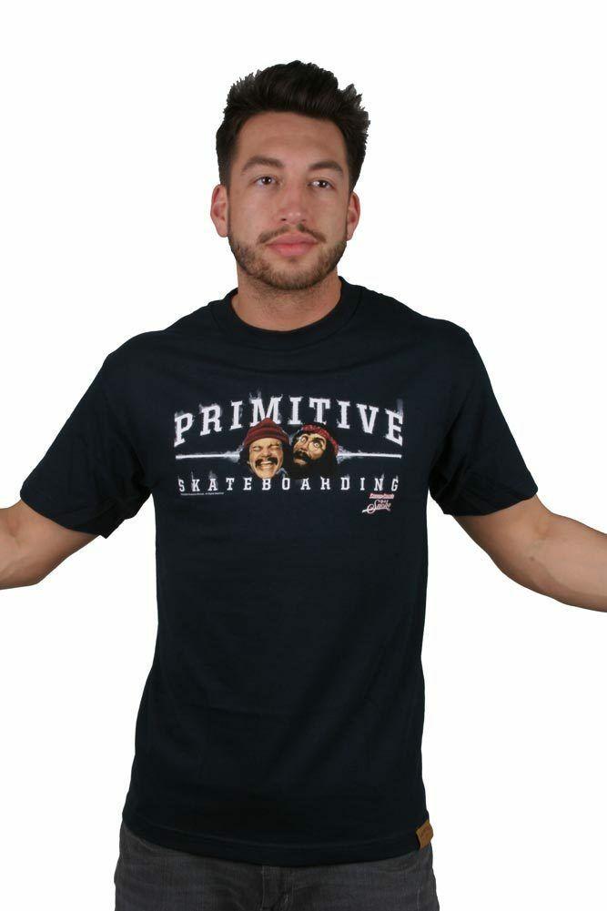 Primitive Cheech & Chong Core Logo Graphic T- Shirt NWT
