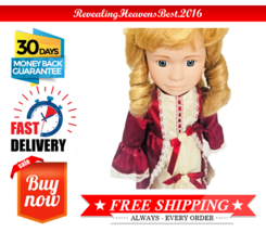 Bisque Porcelain Doll Regal Doll Collection Handpainted Authentic Collec... - $29.69