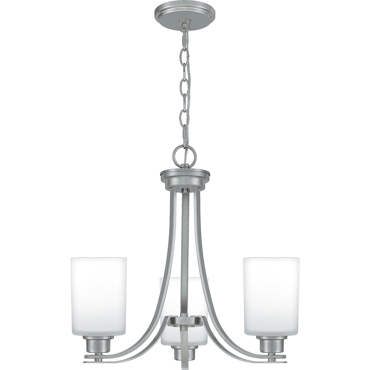 Primary image for Pruitt 3-Light Chandelier in Brushed Nickel